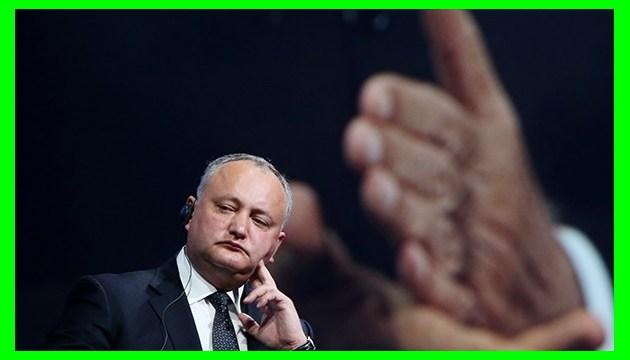 Додон сумнівається в процедурі призначення генерального прокурора Молдови