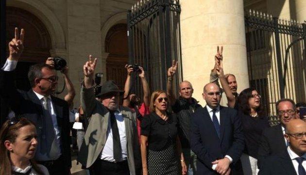 Протесты в Мальте: люди требуют расследовать убийство журналистки