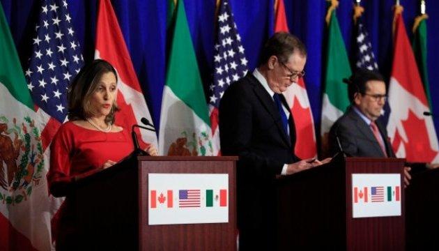 США, Канада и Мексика не могут договориться по зоне свободной торговли