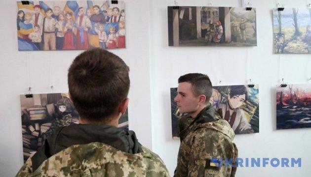 Un calendrier avec des peintures  de militaires ukrainiens dans le style japonais sera édité en Ukraine (photos)