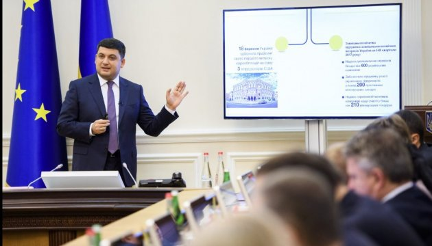Adoption of privatization bill to speed up economic growth, PM Groysman believes