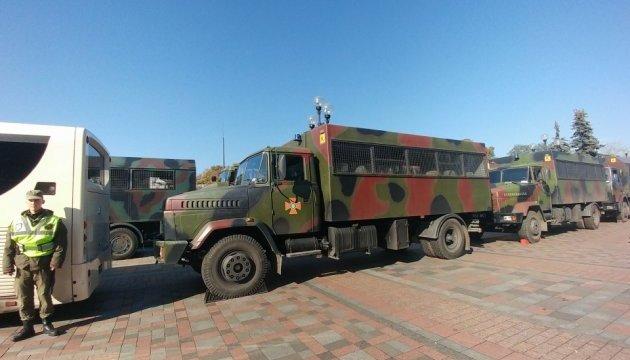 В полиции уточнили количество силовиков в правительственном квартале