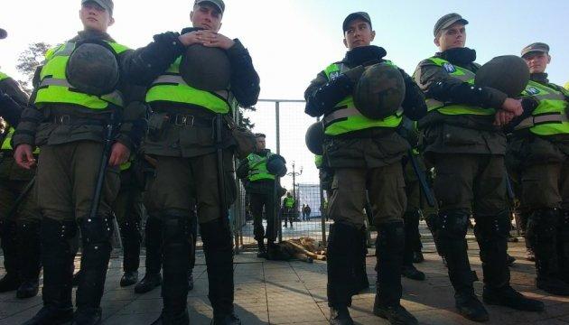 Полиция отпустила задержанных под Радой митингующих