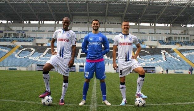Футболисты одесского