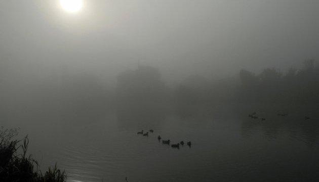 Захід України вночі накриє туман