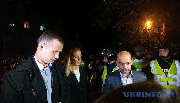 На Банковой показали разговор с нардепами-митингующими