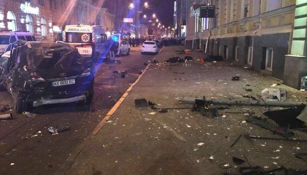 Lexus-убийца из Харькова уже попадался на нарушении ПДД