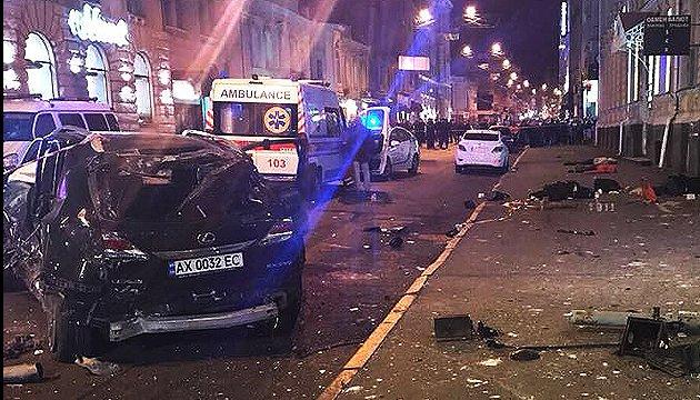Харківська ДТП: з'явилася ще одна постраждала - пасажирка Lexus