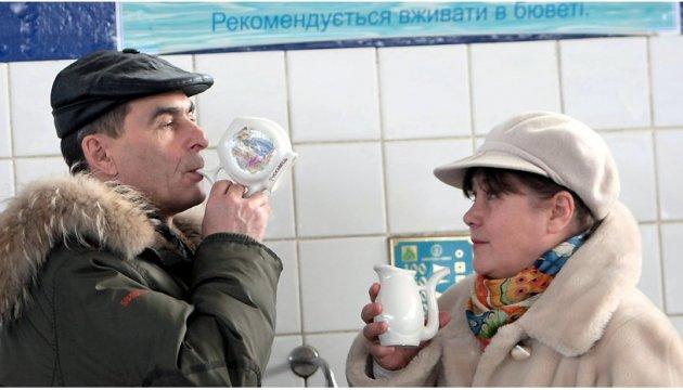 L'eau minérale dans la station thermale de Trouskavets  deviendra payante