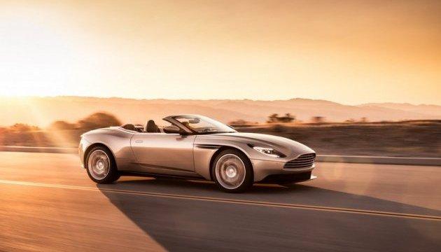 Aston Martin презентовал роскошный кабриолет