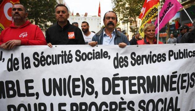 На вулиці Франції вийшли 25 тисяч осіб – вимагають не чіпати Трудовий кодекс
