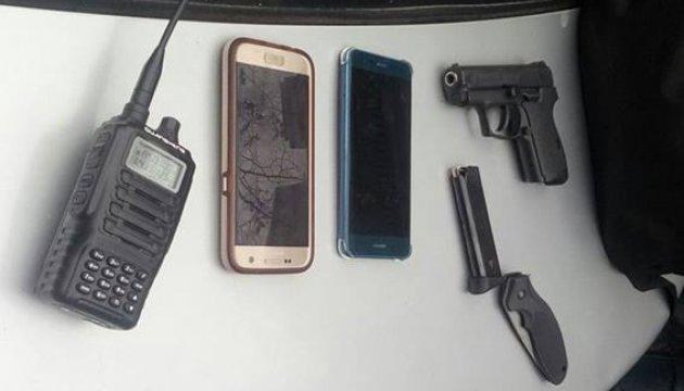 В Киеве полиция задержала мужчину с оружием, который направлялся под Раду