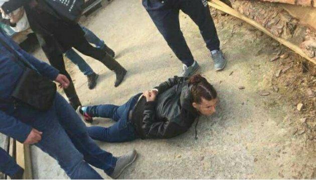 Полиция показала, как задерживали похитителей ребенка в Киеве