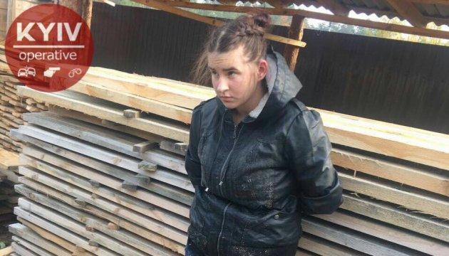 """Похитительница ребенка в Киеве заявляет, что """"спасала"""" его от биологического отца"""
