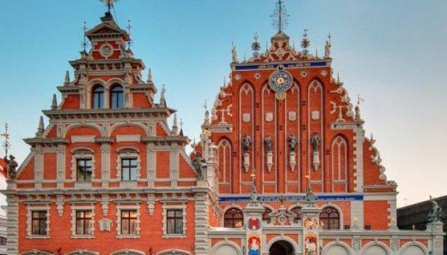В Риге открыли для посетителей экс-резиденцию президента в Доме Черноголовых