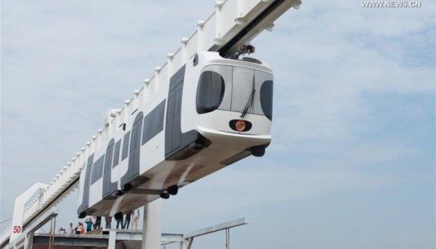 В Китае запустят подвесную железную дорогу