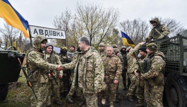 Poroshenko: El guerrero ucraniano es garante del estado independiente
