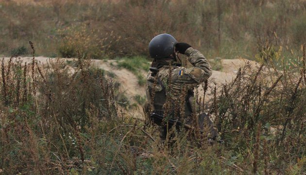 Militants launched 33 attacks on Ukrainian troops in Donbas in last day