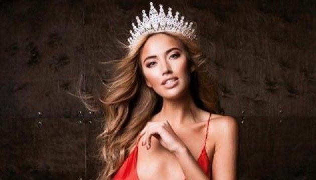 La ucraniana Diana Myronenko gana el bronce en desfile de trajes de baño en Miss Tierra 2017. Fotos