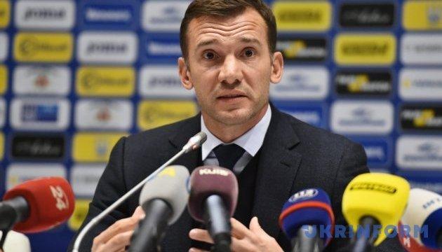 Андрій Шевченко назвав причини поразки збірної України в Німеччині