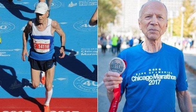 76-річний київський вчений виграв Чиказький марафон