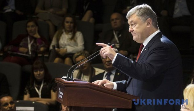 Poroshenko calls on Cooperation Council for Arab States of Gulf to protect Crimean Tatars