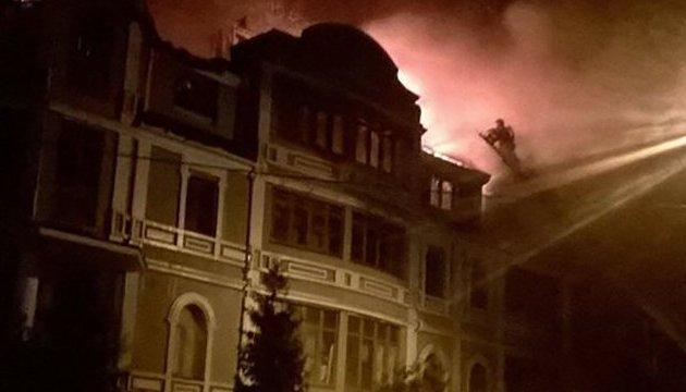 Поліція відкрила справу за фактом пожежі у будинку для переселенців