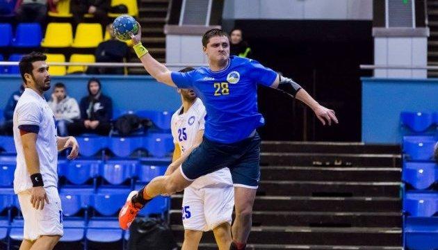 Збірна України розпочала серію контрольних матчів з гандболістами Ізраїлю