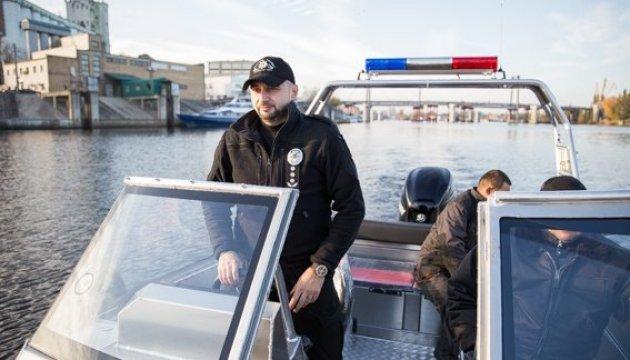 Ministère de l'Intérieur: la police côtière recevra 9 nouveaux canots de sauvetage d'ici la fin de l'année (photos, vidéo)