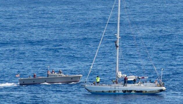 Вчора неподалік Голої Пристані затонула яхта