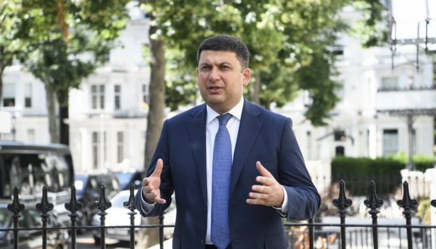 PM Groysman: Ukraine needs 'peacekeeping' leadership of Canada