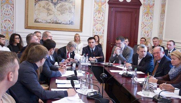 В МИД договорились о шагах для освобождения узников Кремля