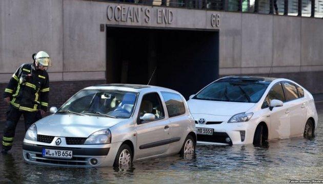 У Європі внаслідок буревію «Герварт» загинули не менш ніж п'ятеро людей