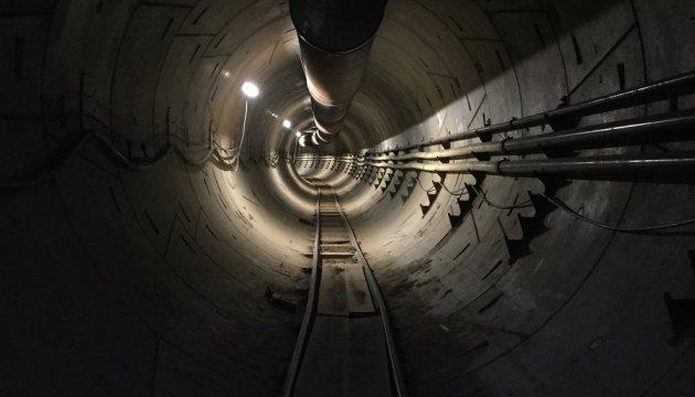 Маск показав, який тунель будує під Лос-Анджелесом