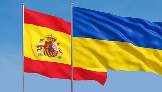 Ucrania y España se solidarizan en defensa de la integridad territorial