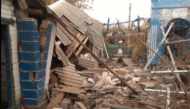 Українська сторона СЦКК зафіксувала руйнації від обстрілу Широкиного
