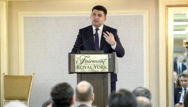PM Groysman: Kyiv-Toronto direct flight to be launched in summer 2018