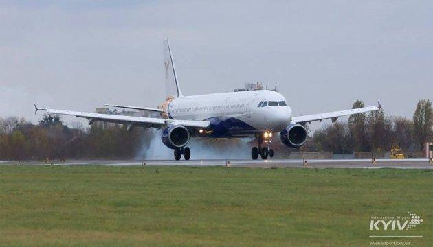 У Жулянах уперше приземлився найбільший аеробус YanAir