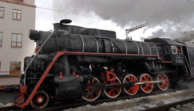 Le 4 novembre, un train rétro circulera à Kyiv