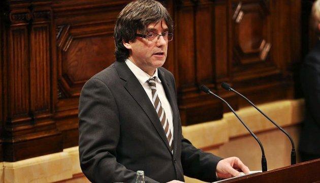 Суд Іспанії заморозив заочну інавгурацію Пучдемона