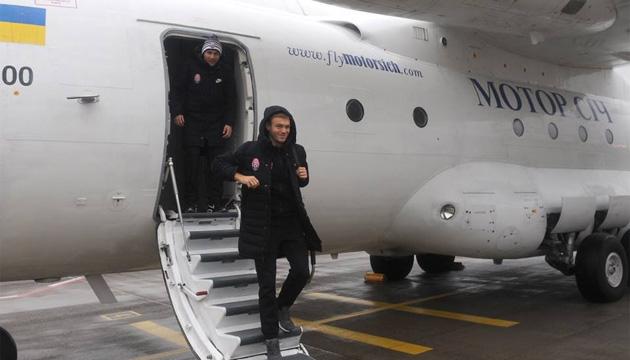 «Заря» отправилась вБерлин наматч Лиги Европы с«Гертой»