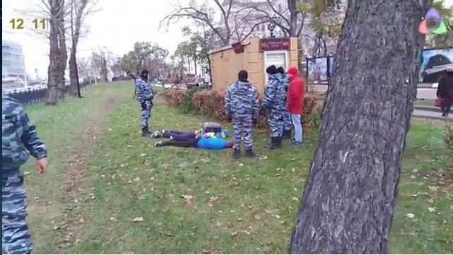 В столице России  5ноября задержали неменее  300 человек занарушения социального  порядка