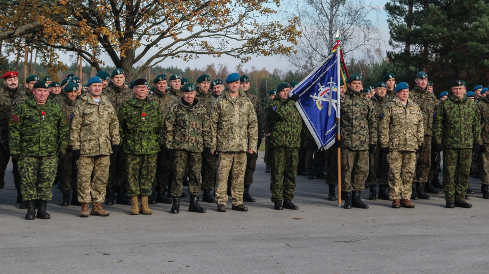 Ukrainian soldiers take part in Maple Arch 2017 exercises in Poland