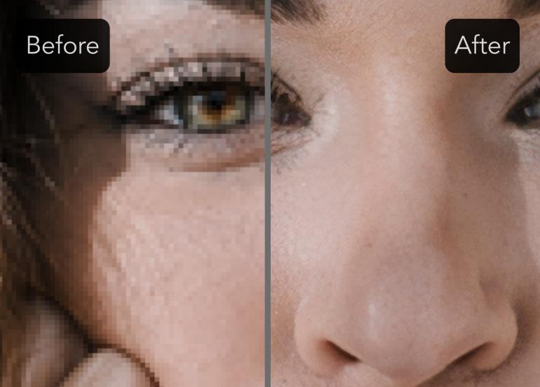 Новый сервис сделает лучше качество фотографий при помощи нейросети