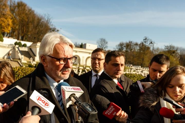 Міністр закордонних справ Польщі Вітольд Ващиковський під час візиту до Львова відмовився відвідати Національний музей-меморіал жертв окупаційних режимів