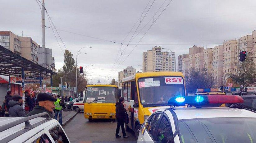 Смертельне ДТП на Оболоні (4 листопада, Київ)