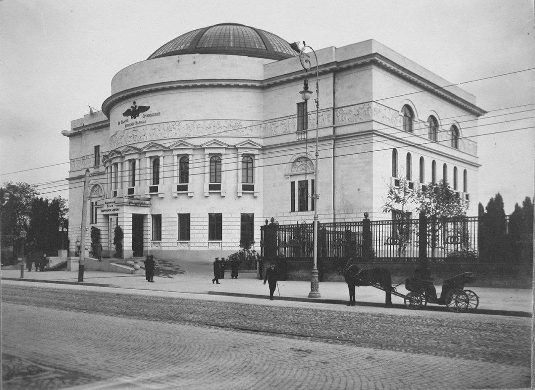 Будинок Педагогічного музею, де після 24-25 березня 1917 року засідала Українська Центральна Рада
