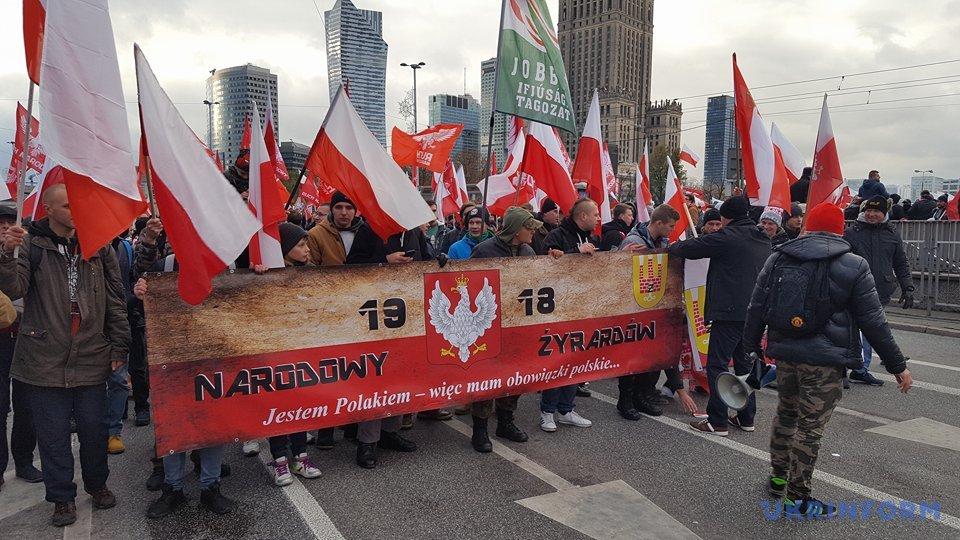 Марш националистов вВаршаве: задержаны 45 человек