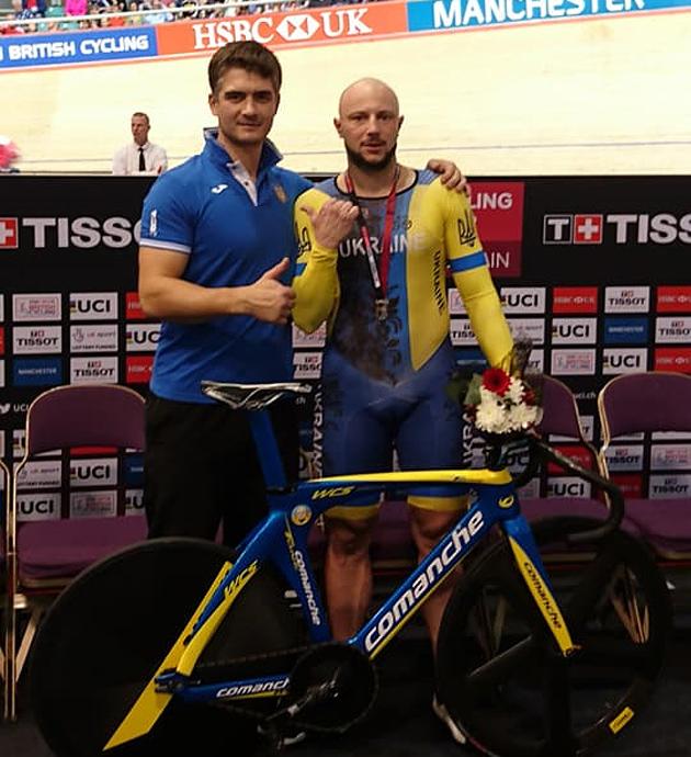 Украинские спортсмены завоевали две медали наКубке мира повелотреку