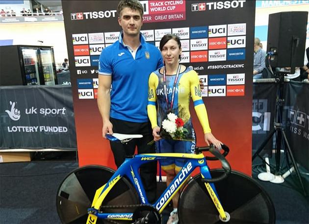 Украинец завоевал серебро наЧемпионате мира повелоспорту